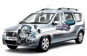 Газовое оборудование на автомобиле.